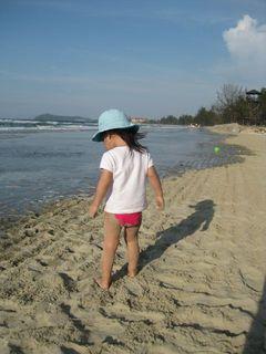 Tully on Beach 2010