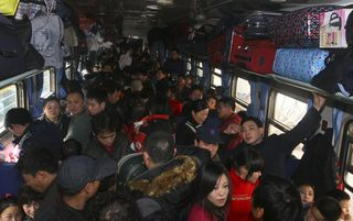 Chinese New Year Train Travel