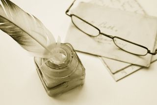 Quill and Glasses